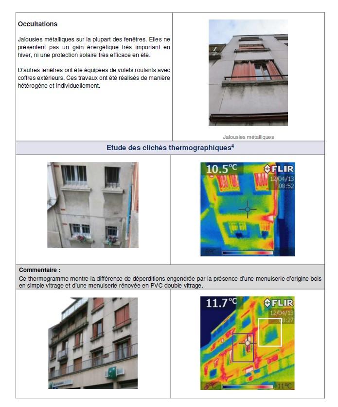 DTG - analyse des déperditions à la caméra thermiques
