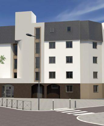 Rénovationv énergétique façades couverture corpropriété Sevran